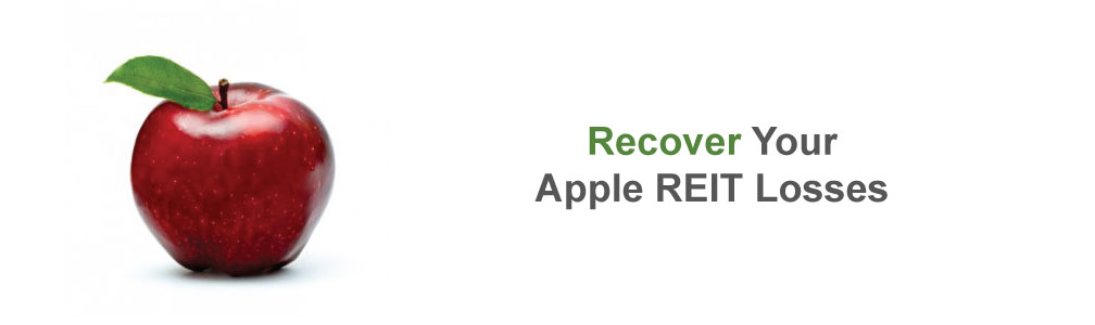 Securities Arbitration is Your Best Chance to Recover  Your Apple REIT Losses